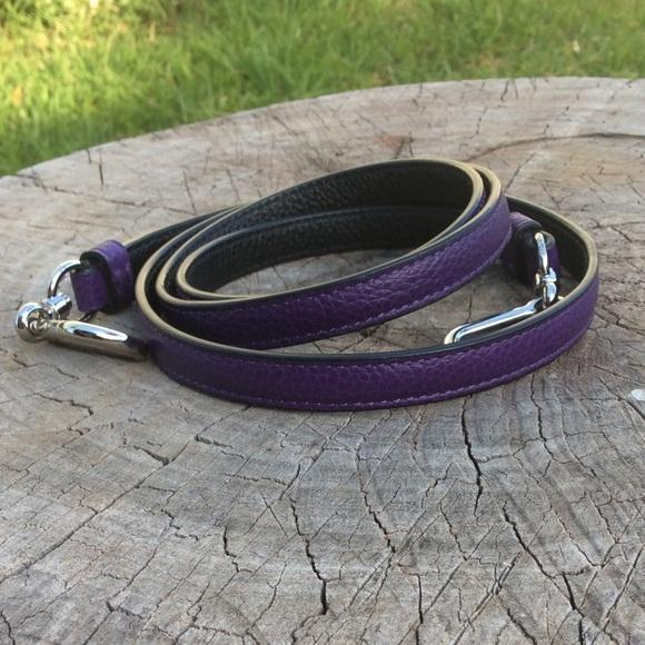 49ec4910da7 Purple/Black Coach Crossbody Strap Replacement